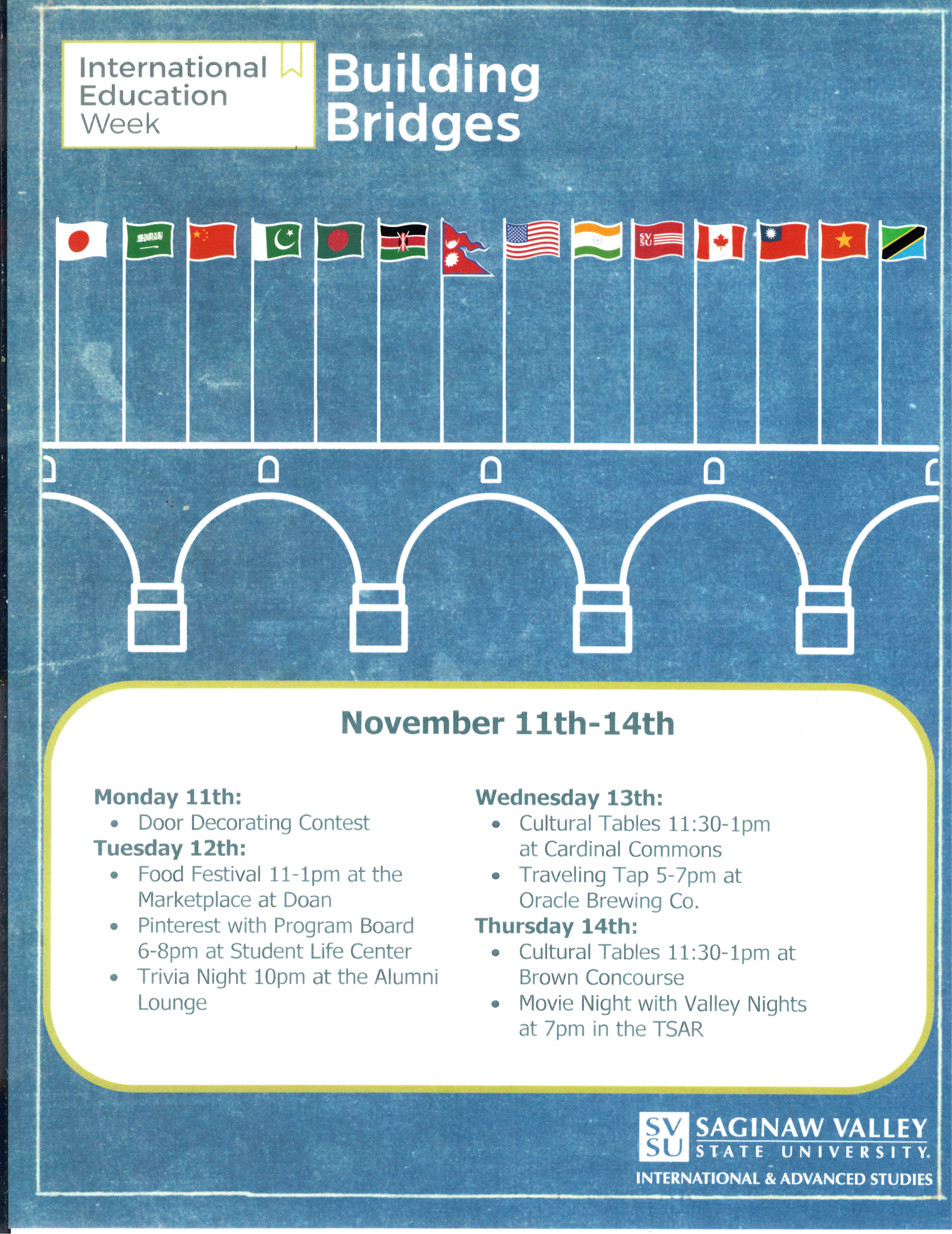 International Week on November 11 to 14